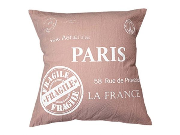 Funda 40x40 fragile paris