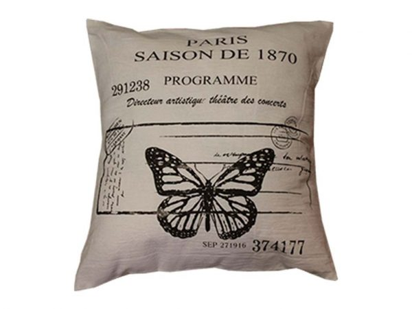 Funda 40x40 mariposa paris