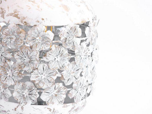 Lampara de mesa marruecos 250 blanco detalle 2