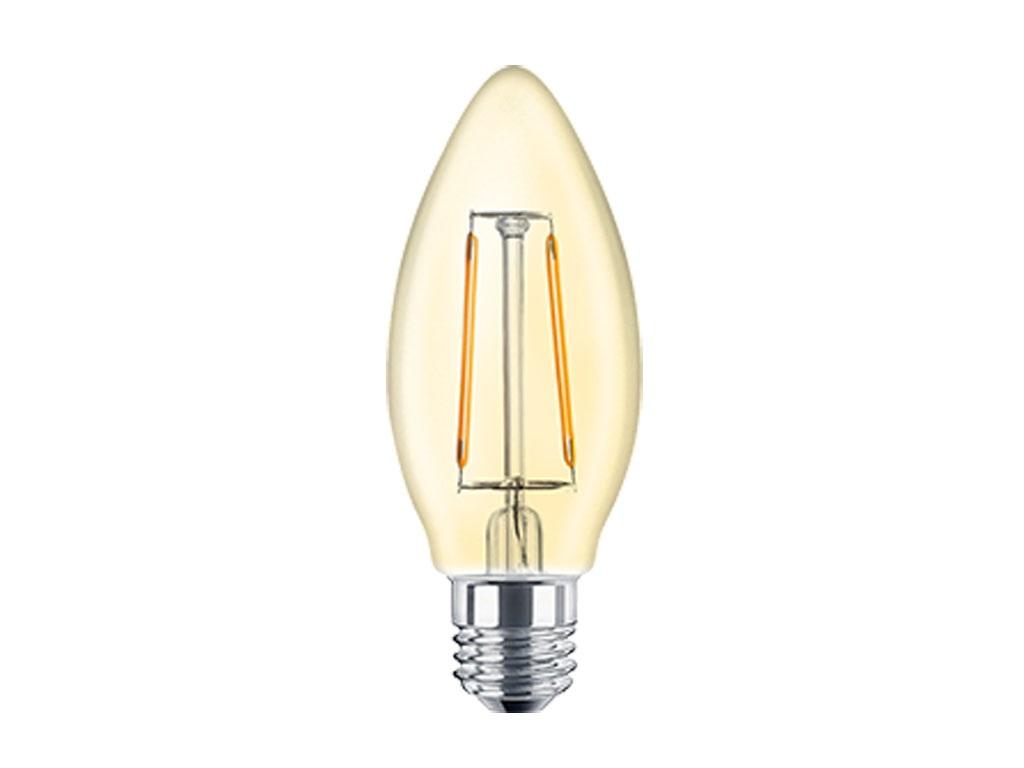 Lampara led c35 e27 6w clara