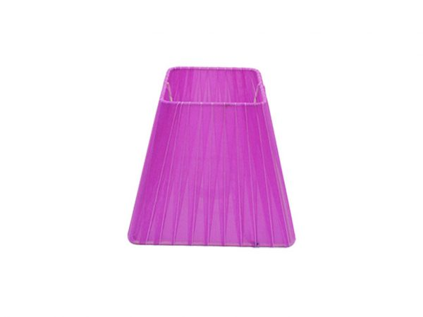 Pantalla 10x17 organza violeta