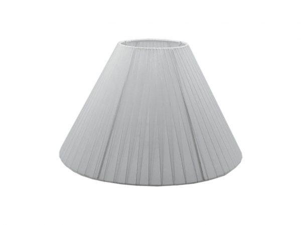 Pantalla 15x35 organza blanca