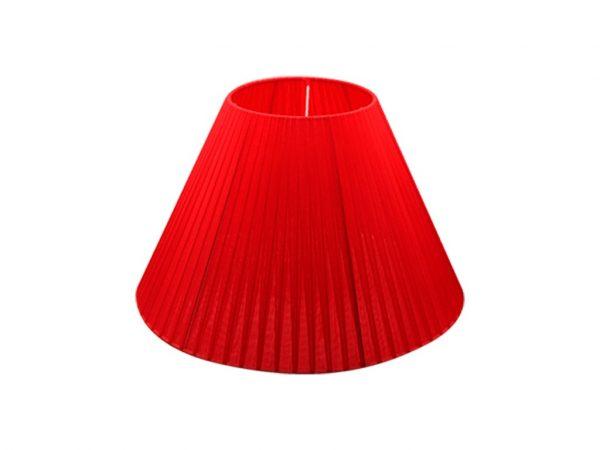 Pantalla 15x35 organza roja