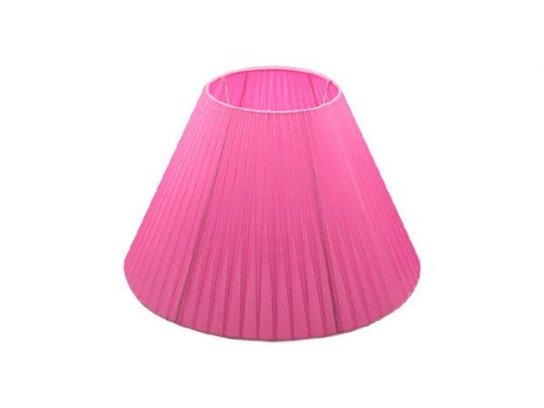 Pantalla 15x35 organza rosa