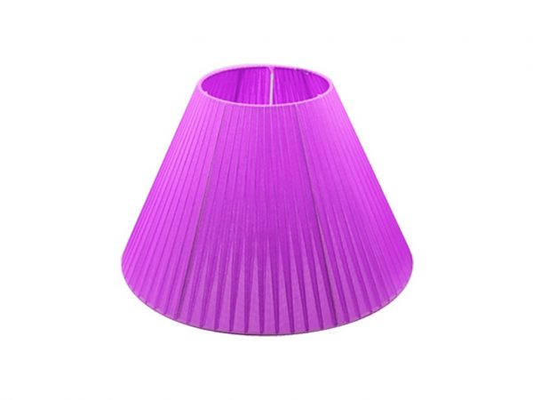 Pantalla 15x35 organza violeta
