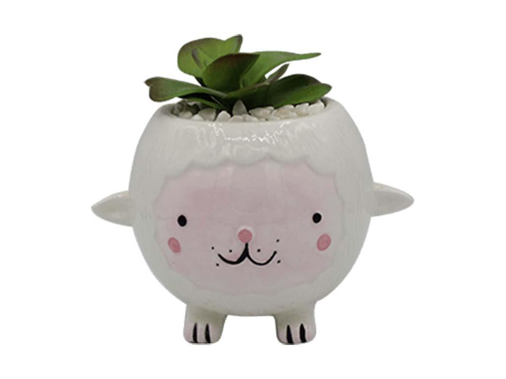 Planta animal 43 oveja blanca