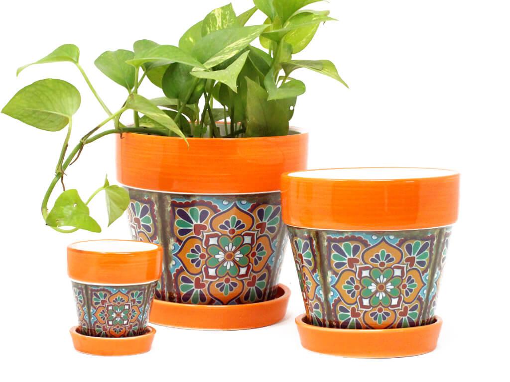 maceta-mandala-con-plato-set-x3-naranja
