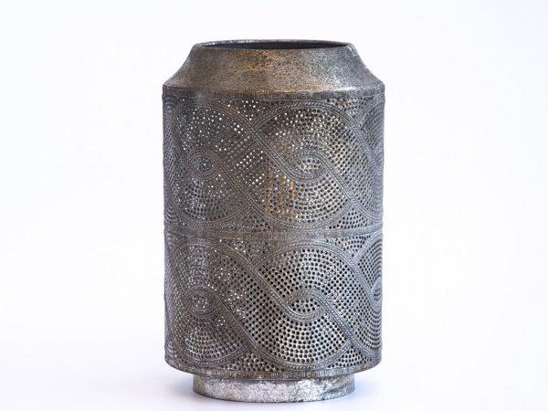 Lampara de mesa marruecos 124 plata
