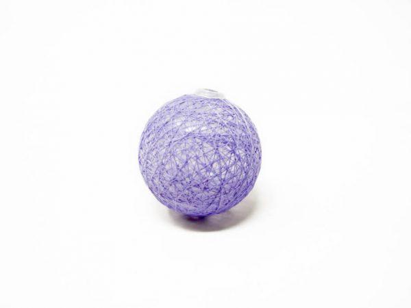 Guirnalda esfera violeta claro por unidad GA515