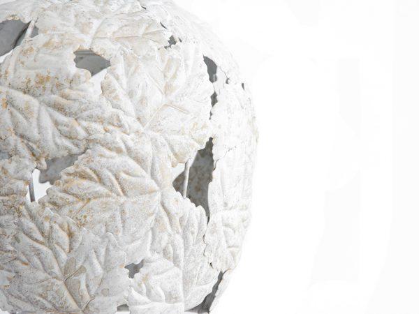 Lampara colgante marruecos 235 blanco lateral