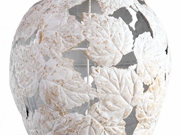Lampara colgante marruecos 236 blanco detalle