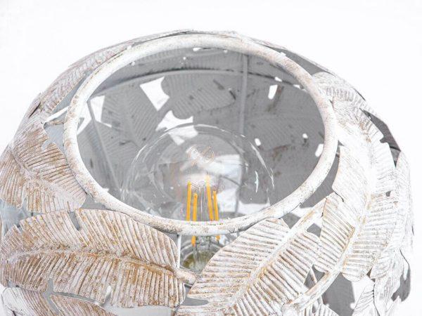Lampara de mesa marruecos 247 blanco detalle