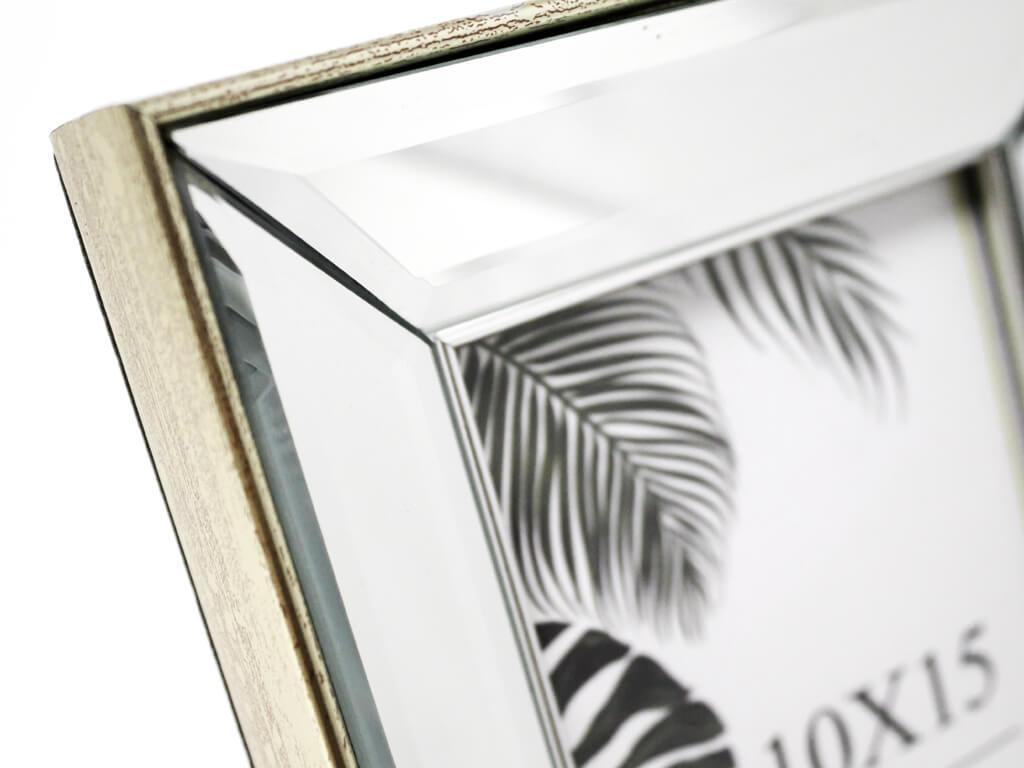 Portarretrato espejo biselado 10x15