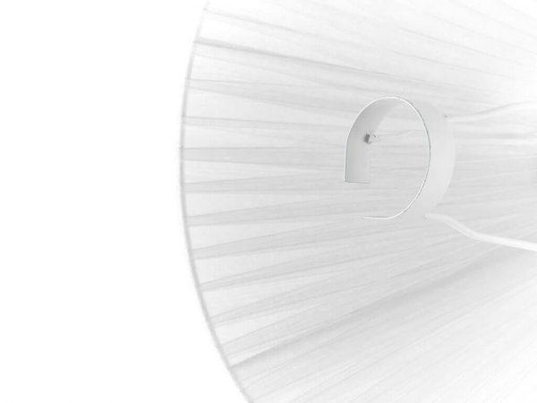 Pantalla 11x30 organza blanco detalle