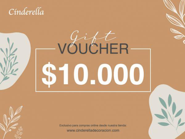giftcard cinderella 10000