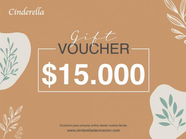 giftcard cinderella 15000