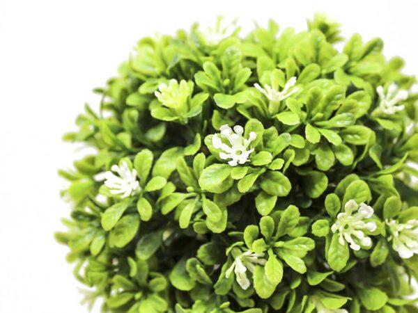 Bonsai flores 1 blanco detalle 2