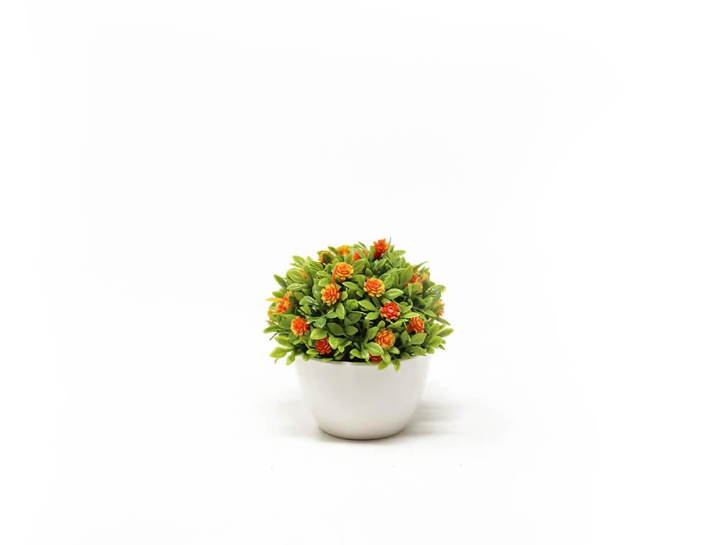 Bonsai flores 12 naranja