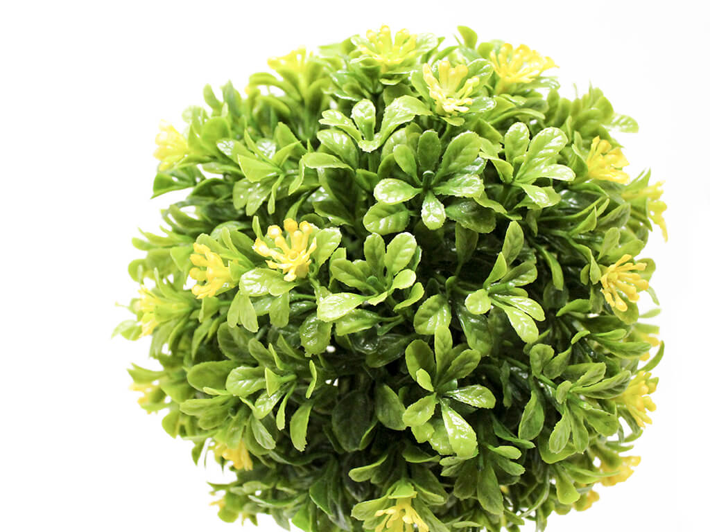 Bonsai flores 2 amarillo detalle