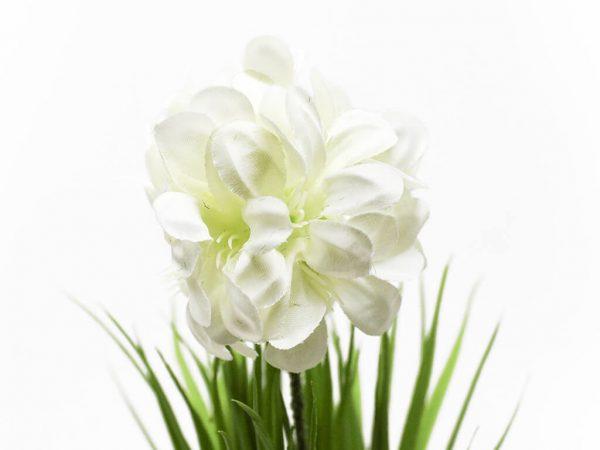 Bonsai flores 38 blanco detalle
