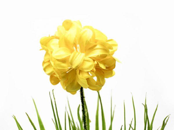 Bonsai flores 39 amarillo detalle