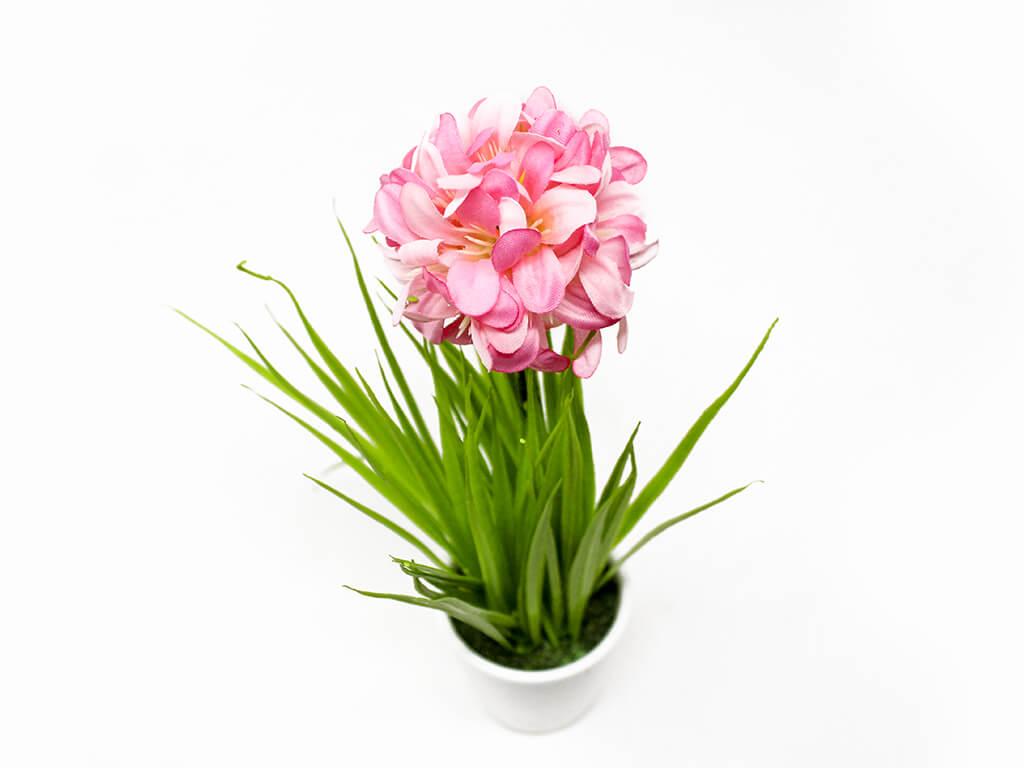 Bonsai flores 41 rosa arriba