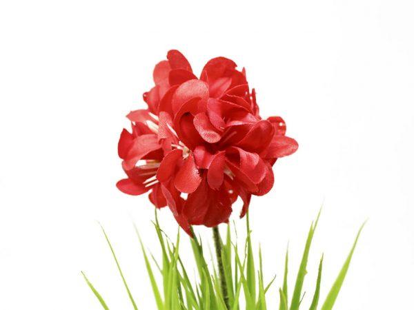 Bonsai flores 42 rojo detalle