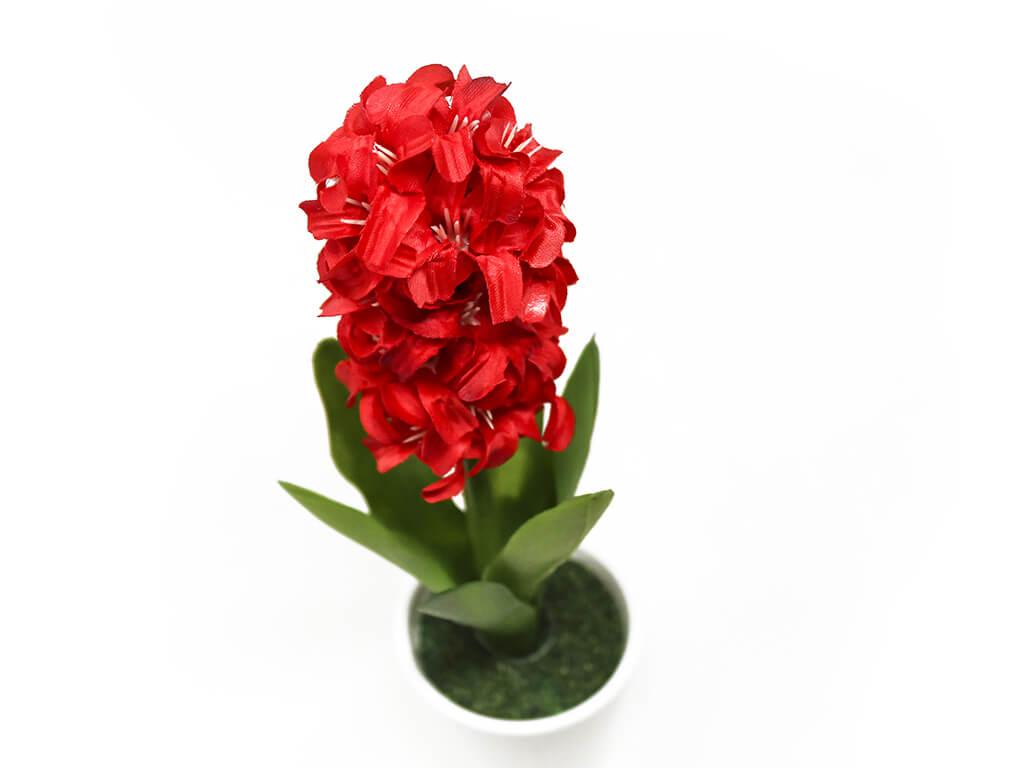 Bonsai flores 47 rojo detalle 2