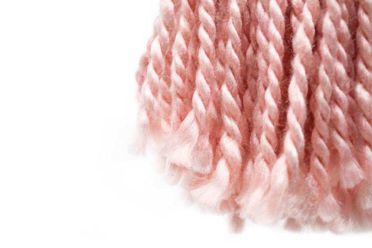 Borla Candela rosa detalle 4