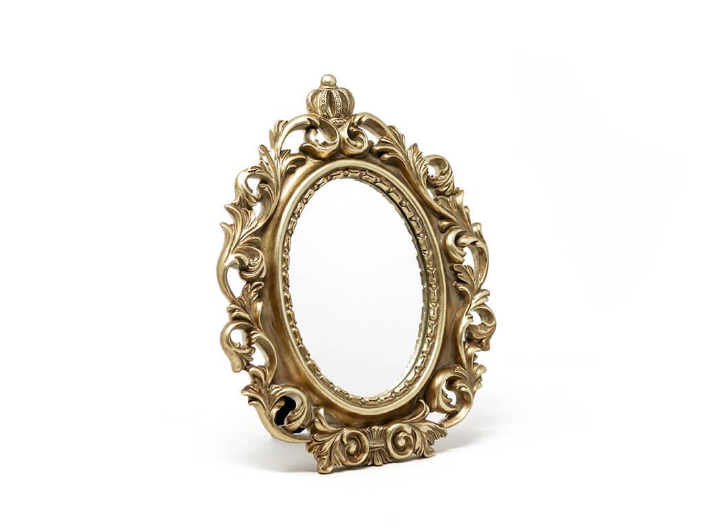 Espejo vintage deco 2 dorado