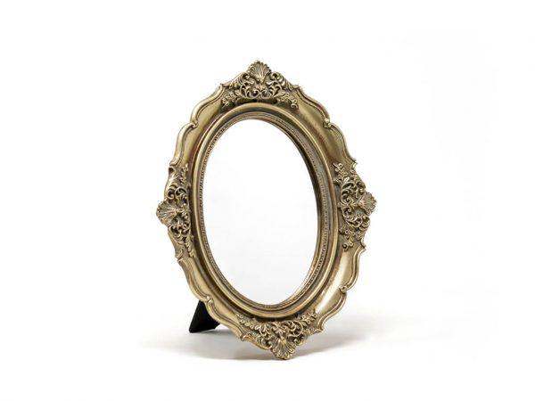 Espejo vintage deco 3 dorado