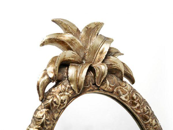 Espejo vintage deco 8 anana dorado