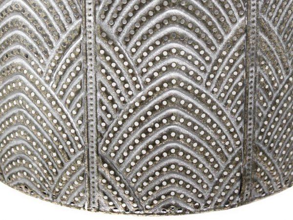 Lampara colgante marruecos 134 plata detalle
