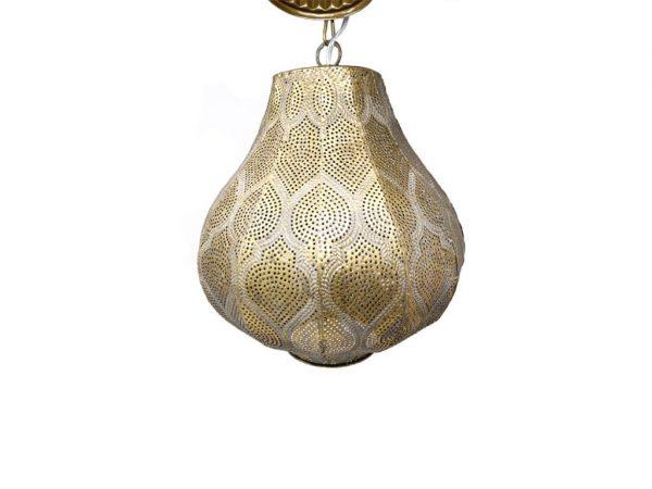 Lampara colgante marruecos 36 oro