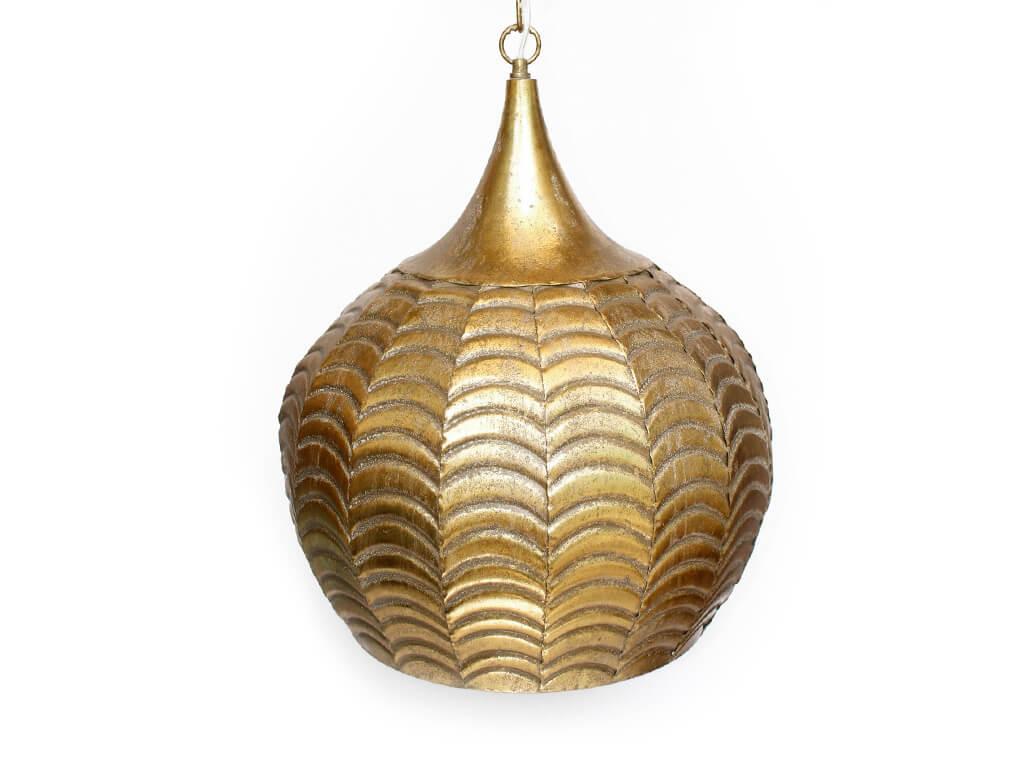 Lampara colgante marruecos 39 oro