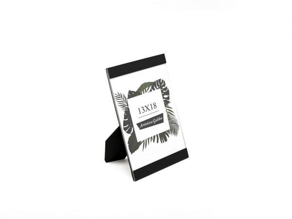 Portarretrato de aluminio 13x18 negro