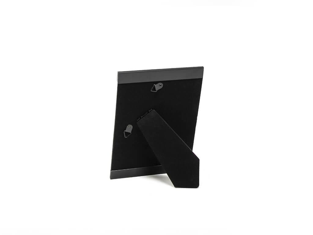 Portarretrato de aluminio 13x18 negro reverso
