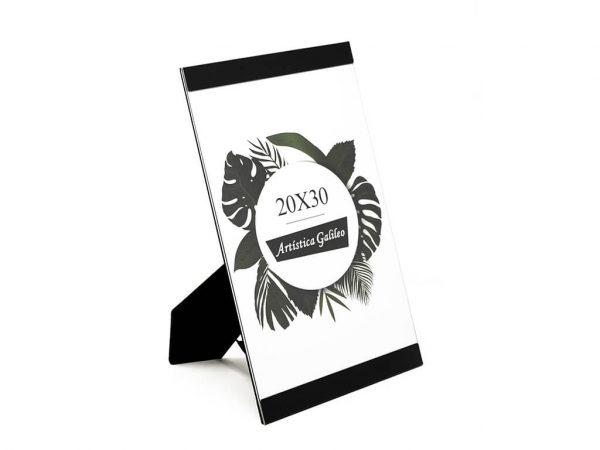 Portarretrato de aluminio 20x30 negro