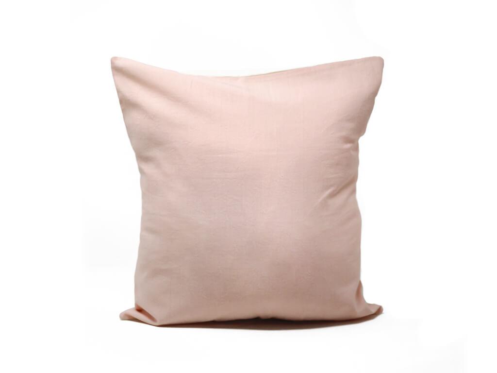 Funda 40×40 lisa rosa.