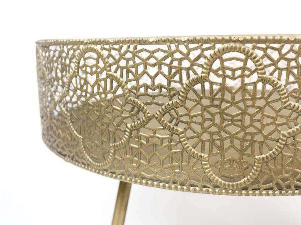 portamaceta metal antique 8 detalle