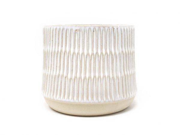 Maceta color blanca 14cm MQ700