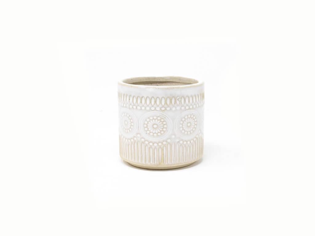 Maceta color blanca 8cm MQ170