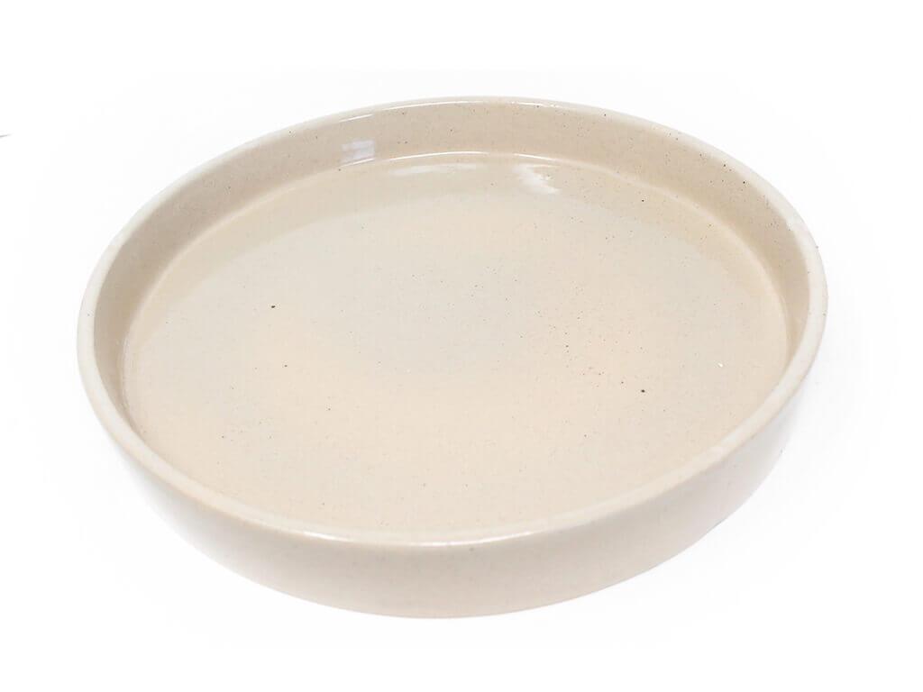 Maceta color con plato 23cm