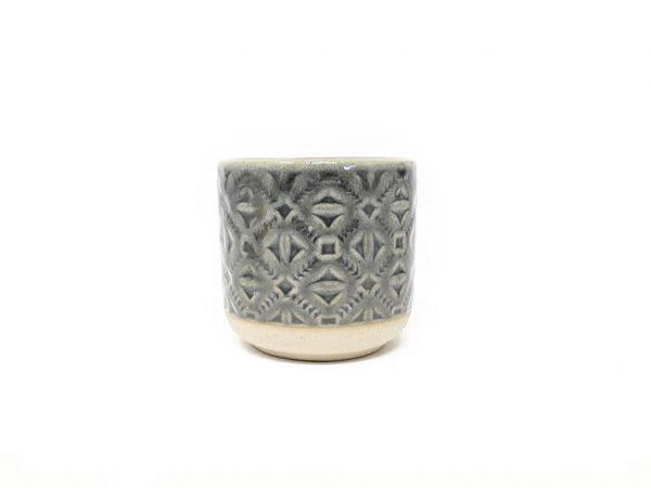 Maceta color gris 8cm MQ184