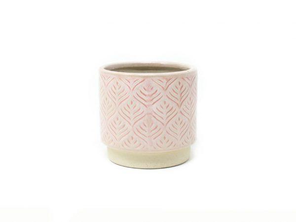 Maceta color rosa 10cm MQ333