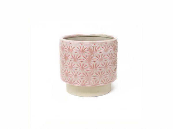 Maceta color rosa 11cm MQ503