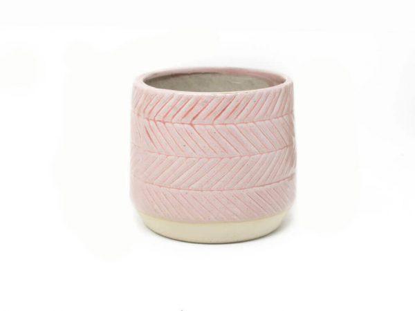 Maceta color rosa 11cm MQ533