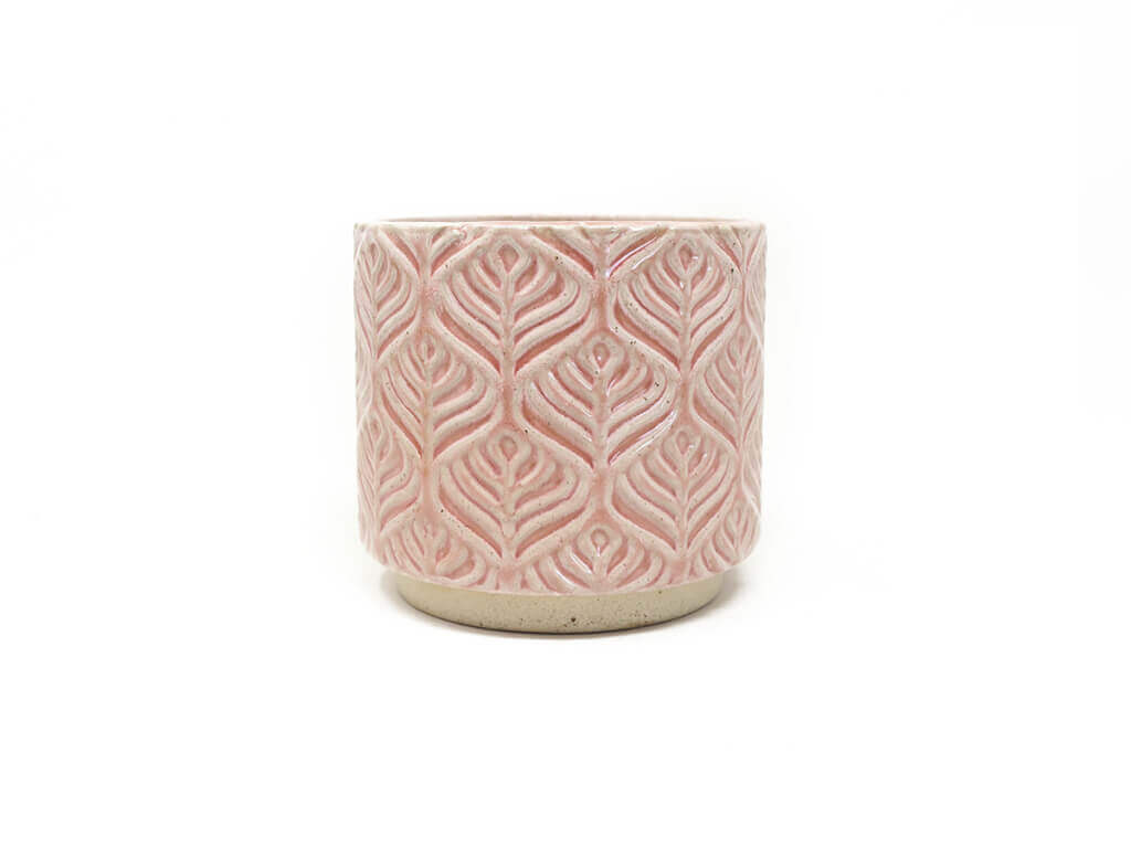 Maceta color rosa 11cm MQ551