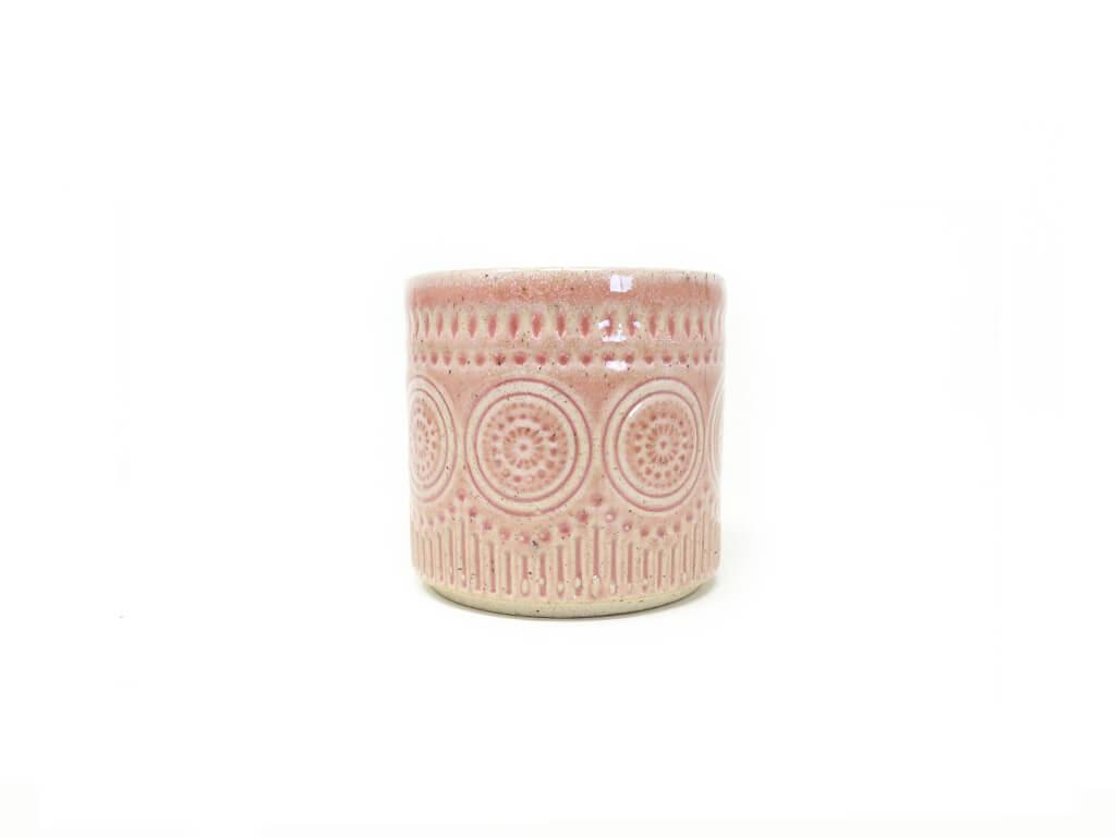 Maceta color rosa 8cm MQ173
