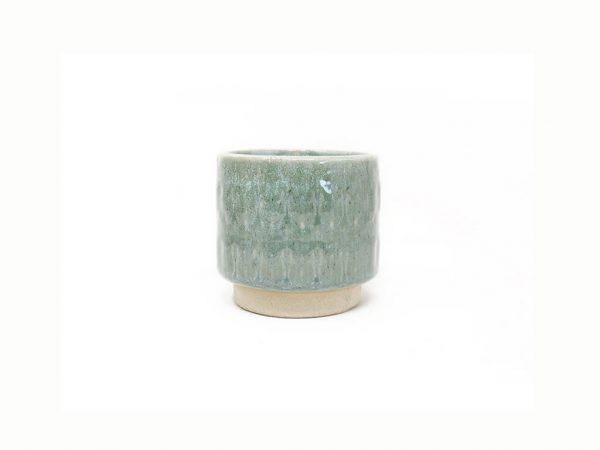 Maceta color verde 8cm MQ152